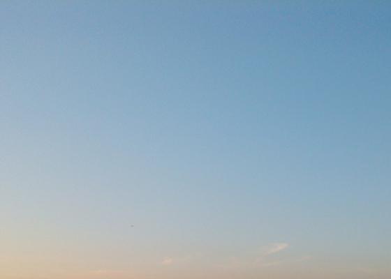 Evening Sky, 2nd April 2009