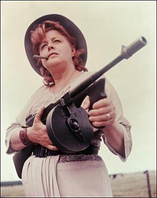 Shelley Winters as Kate 'Ma' Barker