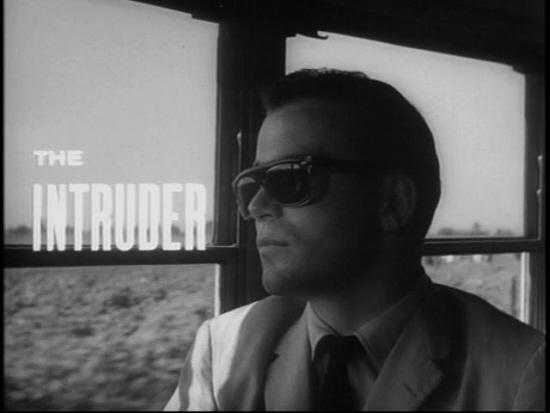 The Intruder: Still from title sequence